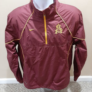 Nike Storm Fit Mens Arizona State 1/4 Zip Jacket
